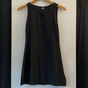 Black Nuu Muu Athletic Dress